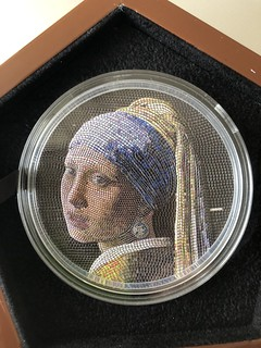 Girl with a Pearl Earring coin