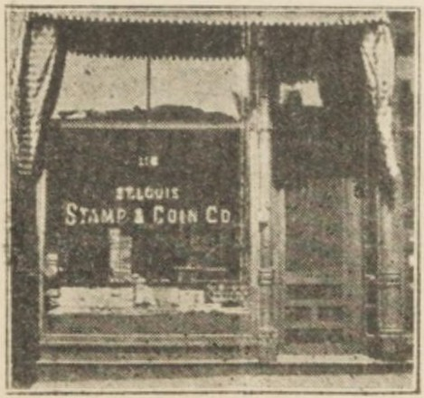 St. Louis Stamp & Coin Co storefront
