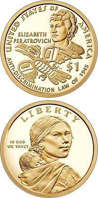 Elizbeth Peratrovich dollar