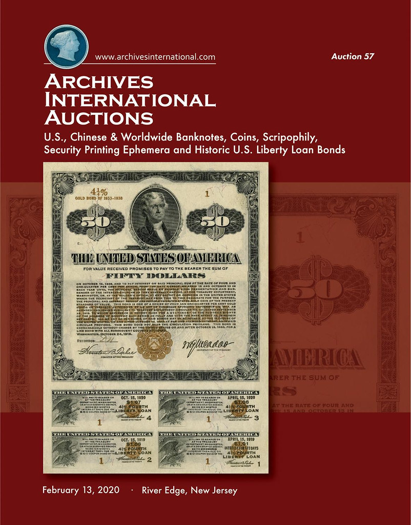 Archives International Sale 57 cover front