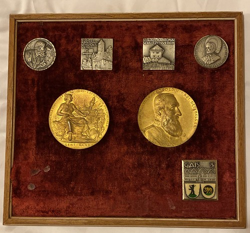 1890 Exposition Provinchale award medals