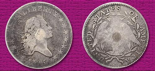 1795 silver-plugged half dollar