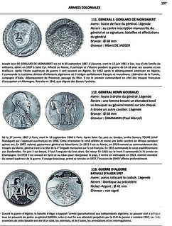 FRENCH OVERSEAS MEDALS sample page 2