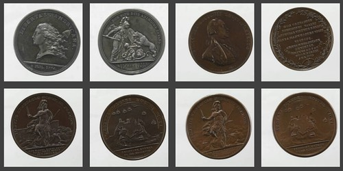 National Numismatic Collection Comitia Americana medals