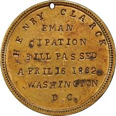 Emancipation Bill token