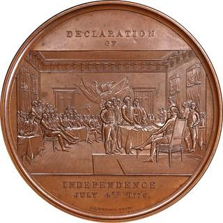 Declaration of Independence Signing medal