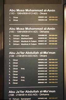 5 Sharjah Museum of Islamic Civilization coin display summary