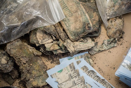 mutilated currency