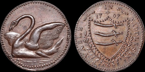 1797 Middlesex Copper Penny