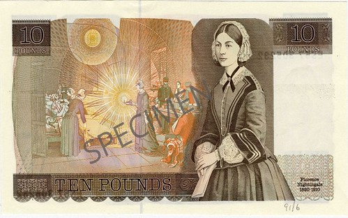 Florence Nightingale banknote