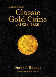 Classic Gold Coins 1834-1839 deluse cover