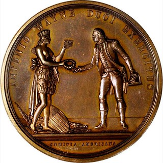 Anthony Wayne at Stony Point Medal obverse