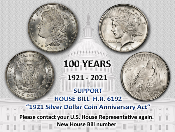 1921 Silver Coin Anniversary Act
