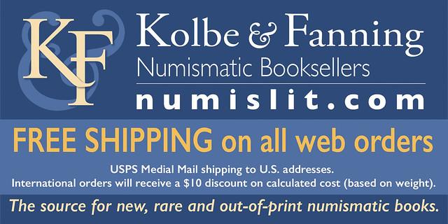 Kolbe-Fanning E-Sylum ad 2020-03-29 Free Shipping