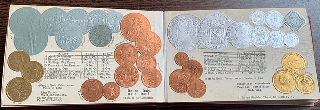 Numismatic Postcard Album 6