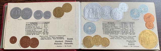 Numismatic Postcard Album 3