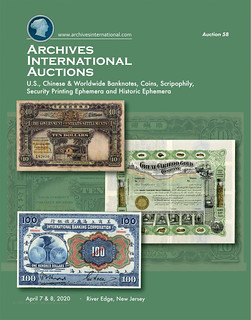 Archives International Sale 58 cover front
