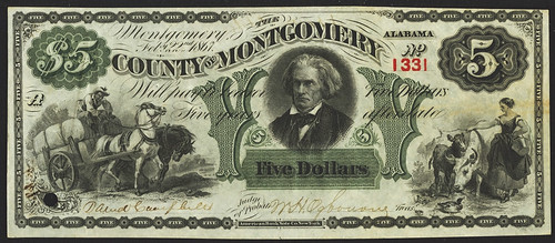 1867 Montgomery Anticipation Note front