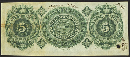 1867 Montgomery Anticipation Note back