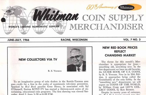 Whitman Coin Supply Merchandiser cover