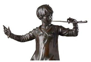 Peter Pan bronze