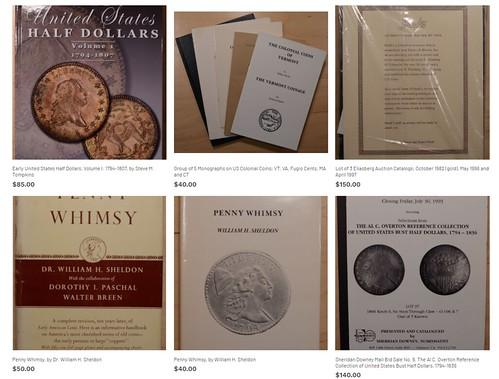 Kahn numismatic literature offerings