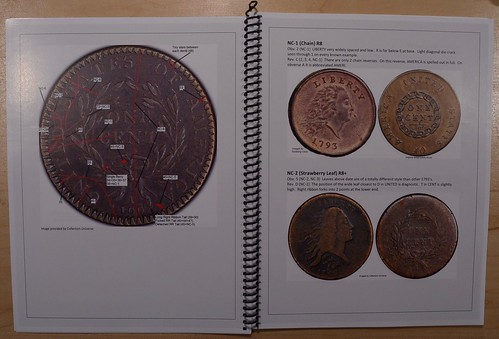 Powers 1793-1795 Large Cent Variety Guide sample pages