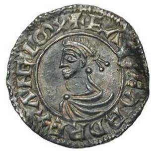 Edward the Martyr penny obverse
