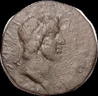 Mithradates III & Queen Gepaepyris obverse