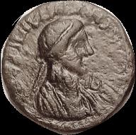 Mithradates III & Queen Gepaepyris reverse