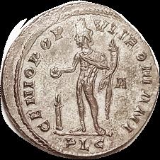 CONSTANTIUS I Follis reverse