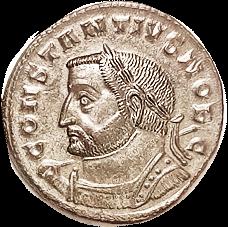 CONSTANTIUS I Follis obverse