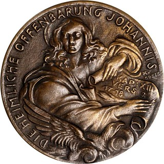 1945 Revelations of John the Evangelist Medal obverse