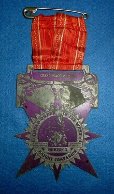 Grand Order of the West Knight Companion medal
