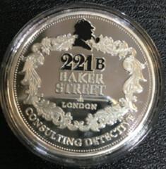 Elementary-My-Dear-Watson medal reverse