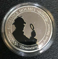 Elementary-My-Dear-Watson medal obverse