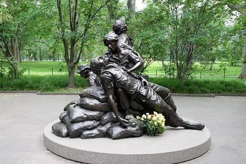 Goodacre Vietnam Womens Memorial
