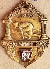 Pennsylvania Railroad Sport Medal 3