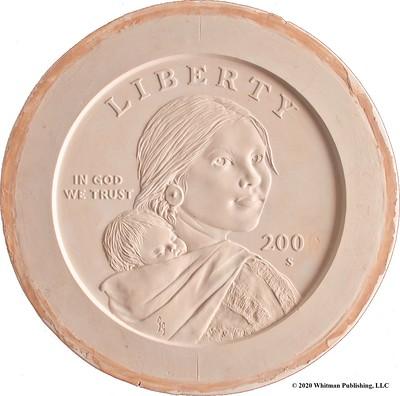 Sacagawea_final-version-sculpt_Whitman-Publishing-copyright