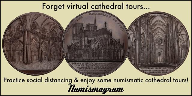 E-Sylum Numismagram ad31 Cathedral Tours