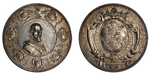 1624 Maurice Prince of Orange medal