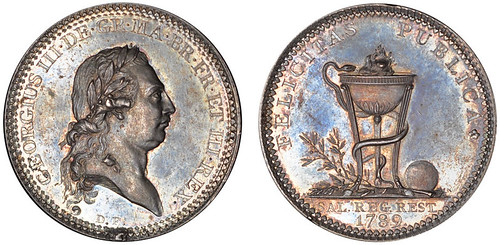 George III Recovery Medal