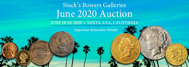 Stacks Bowers 2020 June sale relocation