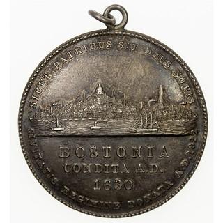 BOSTONIA CONDITA Medal obverse