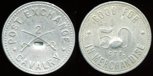 Fort Douglas Utah Post Exchange Token