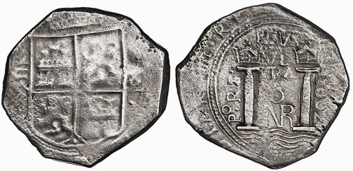 1662 Colombia Cob 8 Reales