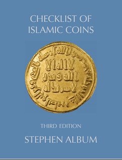 Checklist of Islamic Coins 3rd ed cover