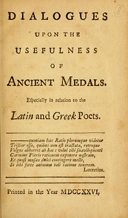 Dialogues upon the Usefulness of Ancient Medals title page
