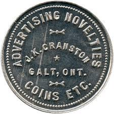 Cranston token 3