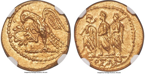 Salvation Army donated ancient gold coin